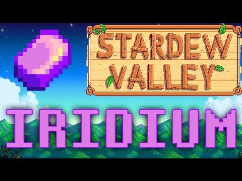 Stardew Valley | How to farm LOTS of Iridium!!