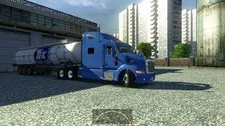 Euro Truck Simulator 2 Рейс Москва - Ярославль