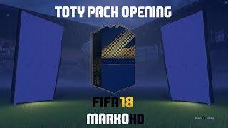135 CSOMAG KINYITÁSA!!!!!!HATALMAS TOTY PACK OPENING - FIFA 18 [ÉLŐ]