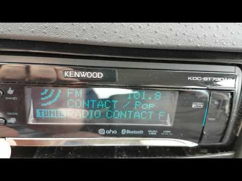 Quick FM Bandscan in Longwy (France)