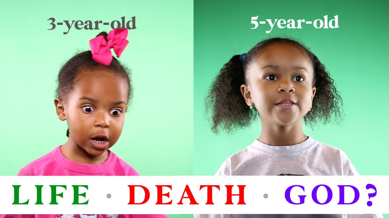My Kids Explain Life, Death, and God | Interview With a 3-year-old and 5-year-old