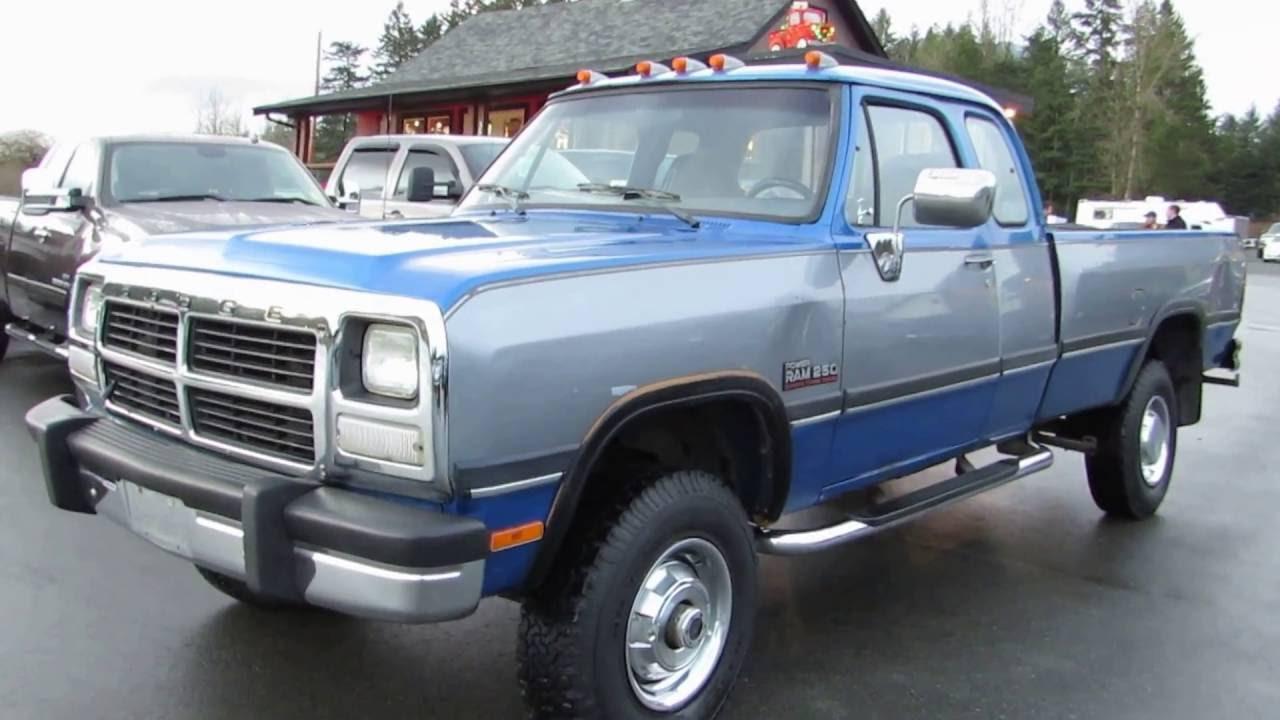 Free 1992 dodge ram 2500 truck manual
