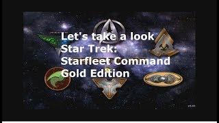 Let's take a look Star Trek: Starfleet Command Gold Edition