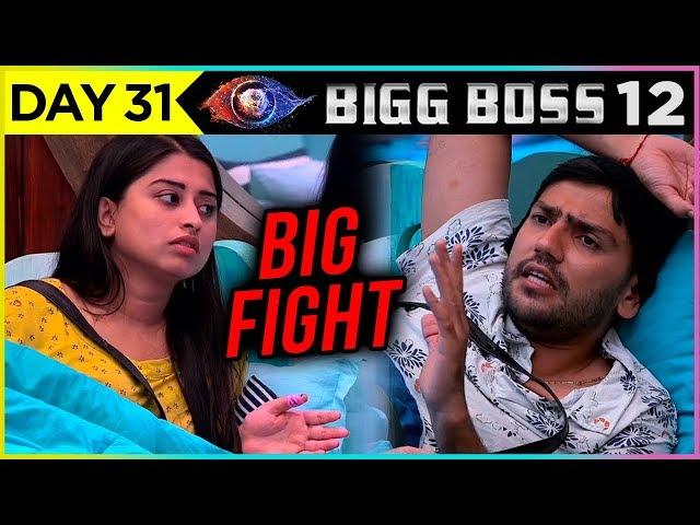 Somi Khan Romil Major Fight | Bigg Boss 12 Episode 31 Update