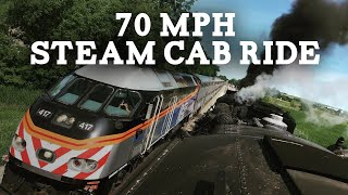 70MPH Cab Ride on Nickel Plate Road no. 765