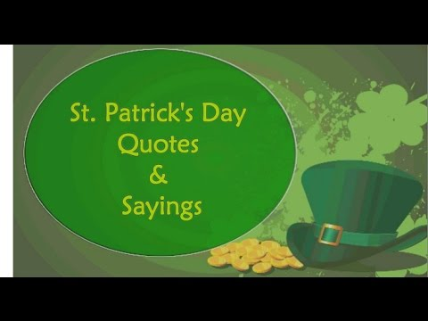 St. Patrick\'s Day Quotes & Saying Free Irish Blessings ...