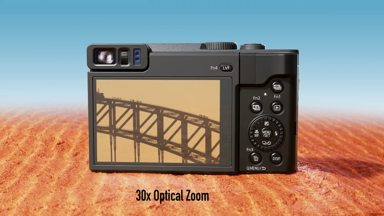 Buy Panasonic Lumix DC-TZ90 Black from £305.99 – Compare ...