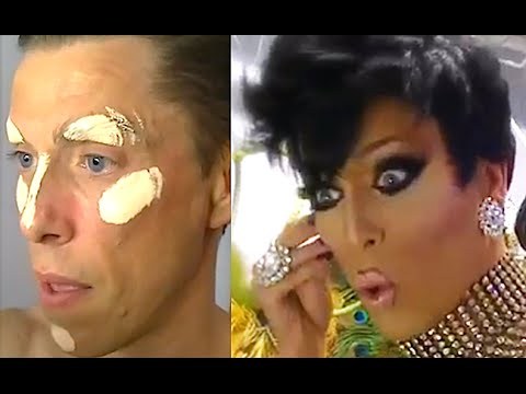 HOW IT WORKS A DRAG QUEEN SHOW? PART 1 - TRANSFORMATION