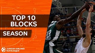 2017-18 Turkish Airlines EuroLeague: Top 10 Blocks!