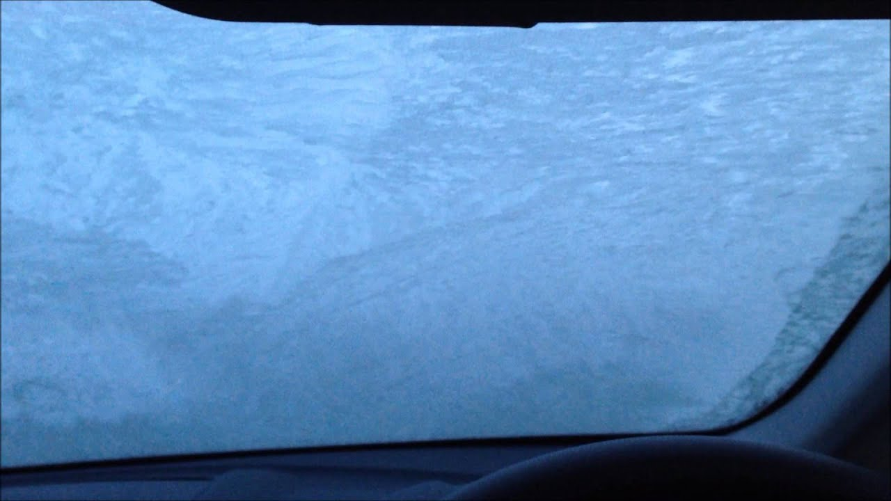 Red Range Rover >> Ford Quickclear Heated Windshield - YouTube