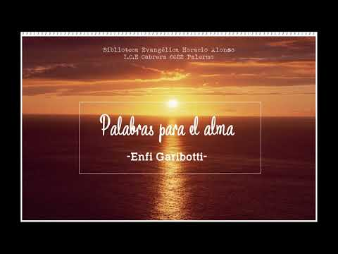 Enfi Garibotti Palabras para el alma