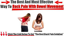 hqdefault - Lower Back Pain And Bowel Movements