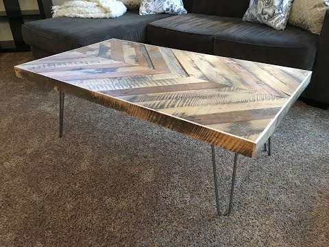Chevron Coffee Table - Kraftmade
