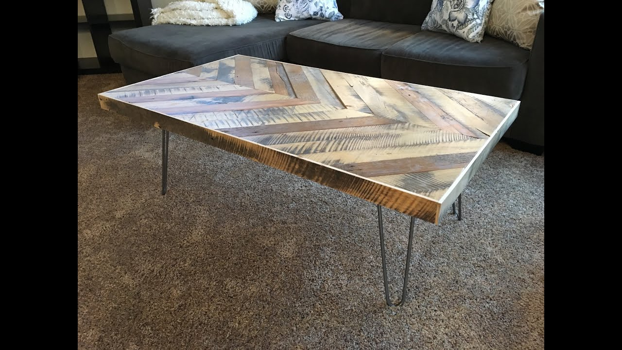 Chevron Coffee Table Kraftmade