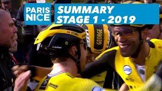 Summary - Stage 1 - Paris-Nice 2019