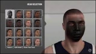 Black Face Scan In 2k19 / Taz face Easy Method