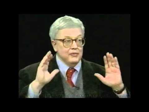 Roger Ebert on Charlie Rose, November 1996 pt1