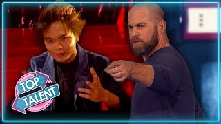 Simon Cowell's Best Magicians Ever on America's Got Talent: The Champions | Top Talent