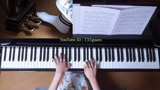 使用楽譜;ぷりんと楽譜・上級(採譜者・記載なし) 2017年9月24日 録画...