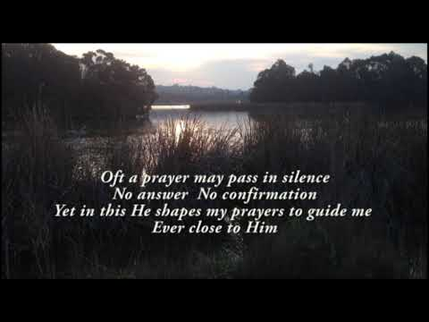Prayers Begin With Him - vocal excerpt