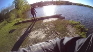 Рыбалка-стремительная атака щуки 2017