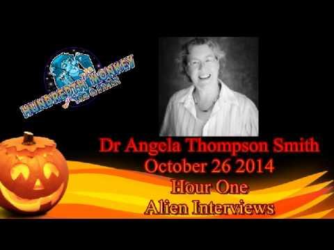 Dr Angela Thompson SmithAlien species on The Hundredth Monkey Radio Oct 26 2014 Hour One