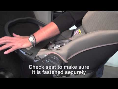 Car Seat Installation -- Primo Viaggio 4-35 without Base