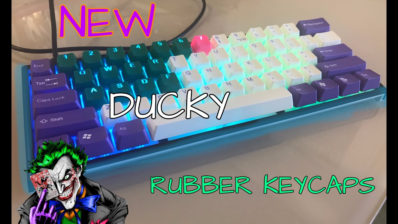 Changing The Keycaps To My Ducky One 2 Mini Tai Hao Rubber