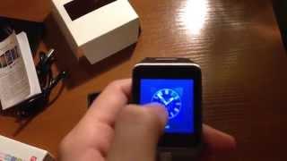 "Smart Watch S28 1.54"" MTK6260 Bluetooth Remote Camera Pedometer Men Women Phone P03-WS28"