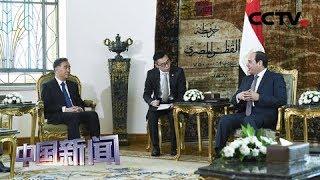 [中国新闻] 汪洋对埃及进行正式访问 | CCTV中文国际