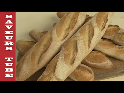 How to make a French Baguette with TV Chef Julien from Saveurs Dartmouth UK