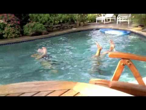 Synchronized Swimming At Huelo Point Lookout Maui