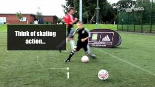 NEW Coerver Coaching video - Side step and double side step