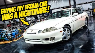 Buying The CLEANEST Lexus SC300 In The Country Was A NIGHTMARE (Tavarish LOSES IT)