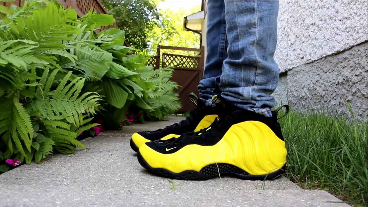 official photos 12190 2fc6d NIKE FOAMPOSITE ONE OPTIC YELLOW WU TANG REVIEW + ON FOOT+WWW.DOPEKICKZ23.CN