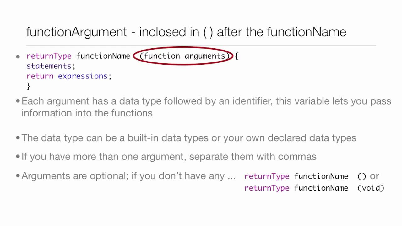 Objective-C Tutorial – Lesson 10: Part 1: Functions