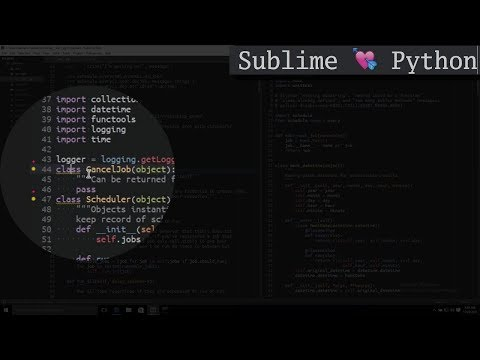 How to - Setup Sublime Text for Python Development