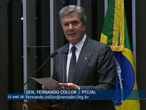 Fernando Collor: 'É crime de responsabilidade a mera irresponsabilidade com o país'