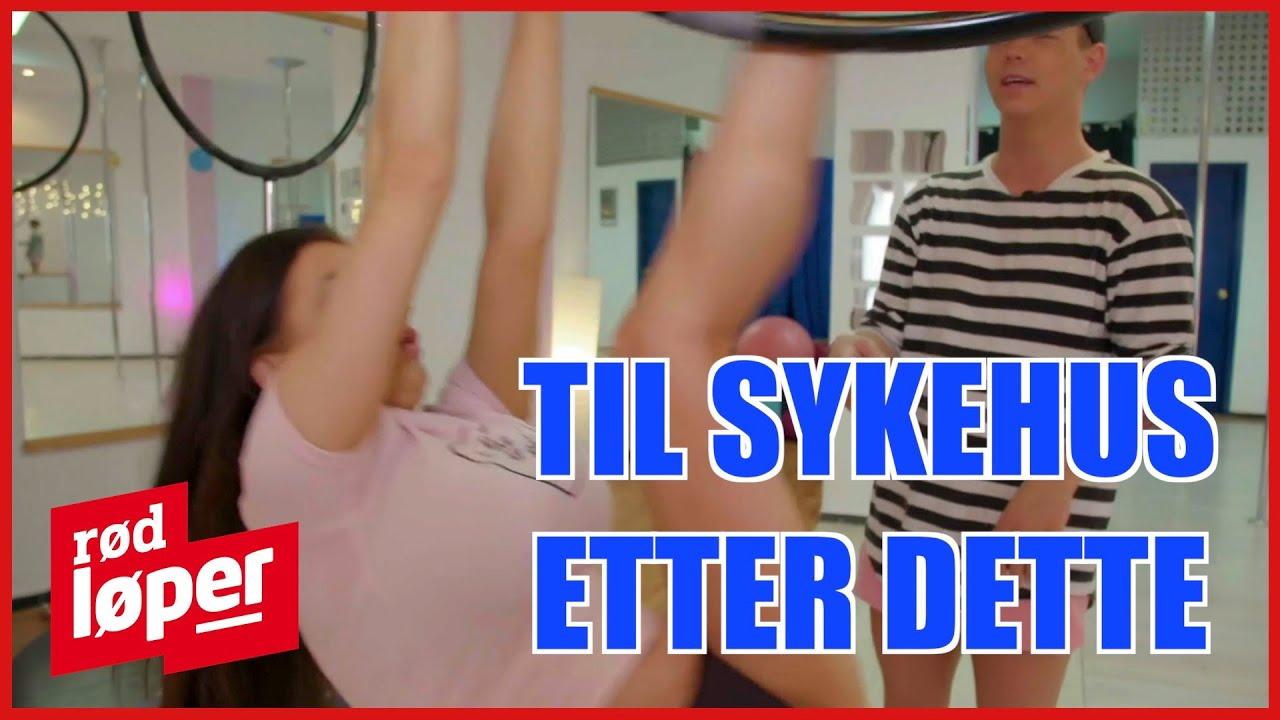 Iselin Michelsen i poledance-ulykke