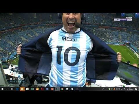 Nigéria vs Argentine 1-2 La Joie et le débrief d'Omar Da Fonseca 26/06/18
