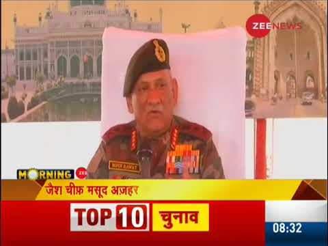 Our plan for JeM chief Masood Azhar is ready: Army General Bipin Rawat