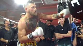 CONOR McGREGOR REACTS TO 8oz GLOVES RULING FOR MAYWEATHER FIGHT - EXPLAINS WHY HE WANTED THEM
