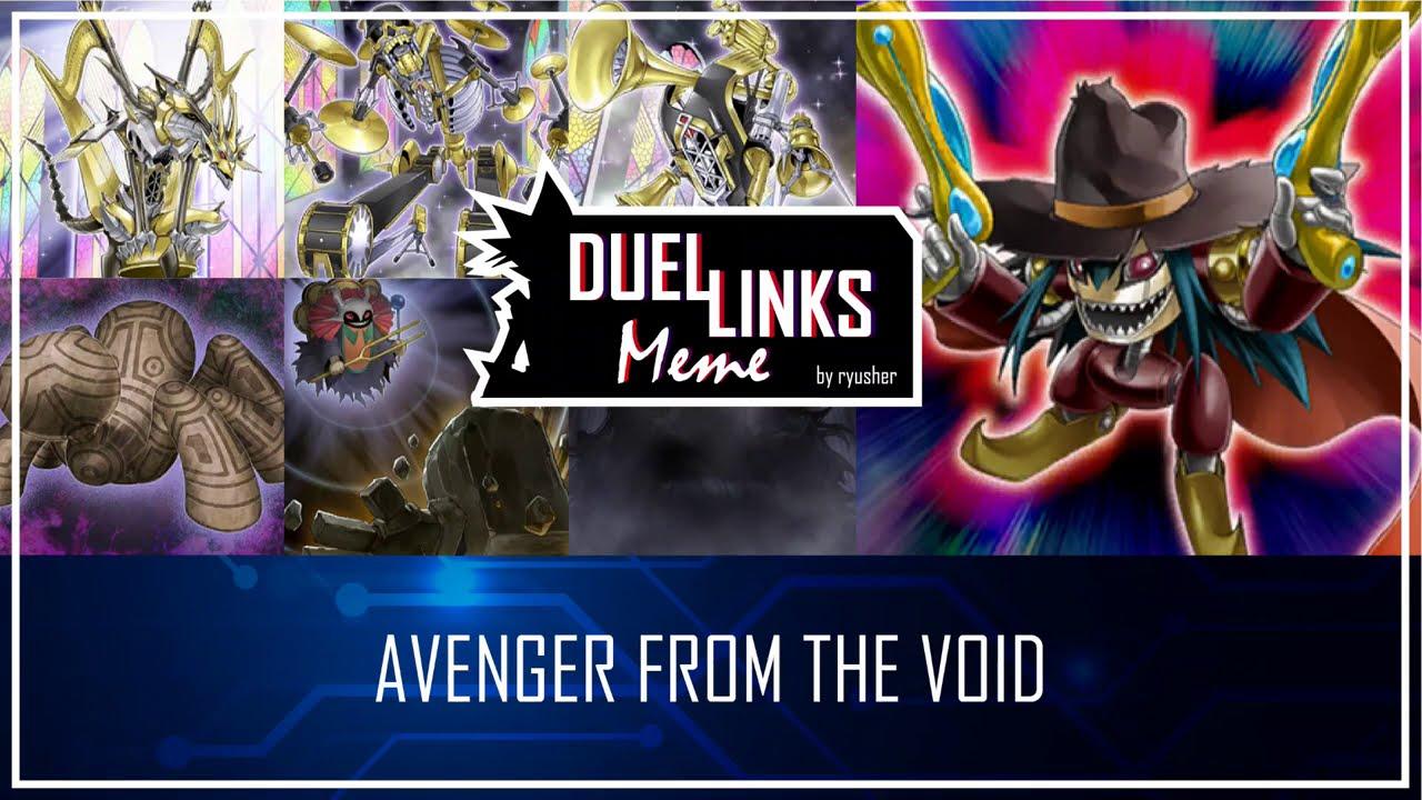AVENGER FROM THE VOID - Avengers Assemble! [Yu-Gi-Oh! Duel Links]