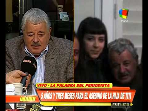 Tití Fernández: No le deseo nada malo, quiero que cumpla lo que tenga cumplir en la cárcel