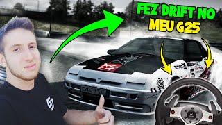 🚦 Getaway Driver fez DRIFT no meu G25!! (Live For Speed) 🚧
