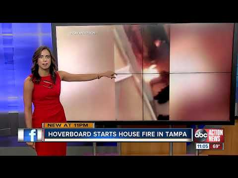 PM Tampa Bay with Ryan Gorman - Hoverboard Starts Fire in Tampa Home