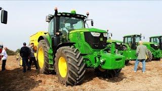 Pokaz precyzyjnego rolnictwa z firmą Chempest 6XJohn Deere