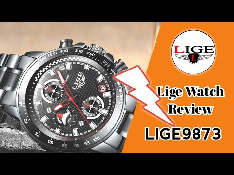 LIGE9873 | LIGE WATCH REVIEW | LIGE WATCHES VIDEO