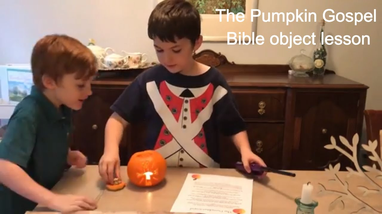 graphic about Pumpkin Gospel Printable known as Drop Enjoyment with The Pumpkin Gospel A Bible Item Lesson
