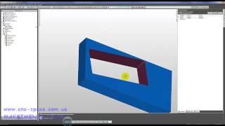 FeatureCam - Урок .Создание угла наклона в электроэрозионной обработке